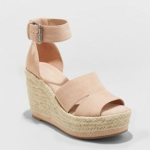 Ankle Strap Espadrille Wedge 9